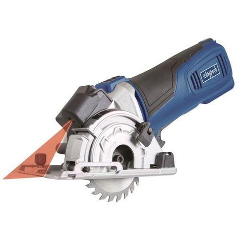SCHEPPACH Scie plongeante avec lames de 89 mm et 3 rails de 420 mm + mallette de rangement PL285