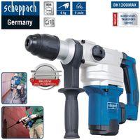 Scheppach SDS-Max Bohrhammer DH1200MAX 9 Joule im Koffer