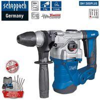 Scheppach SDS-Plus Bohrhammer DH1300PLUS 5 Joule im Koffer