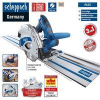 Scheppach Tauchsäge PL55 inkl. 2x Führungsschiene 700mm, Verbinder und Kippschut
