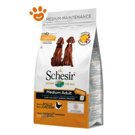 Schesir Dog Medium Adult Mantenimento Pollo