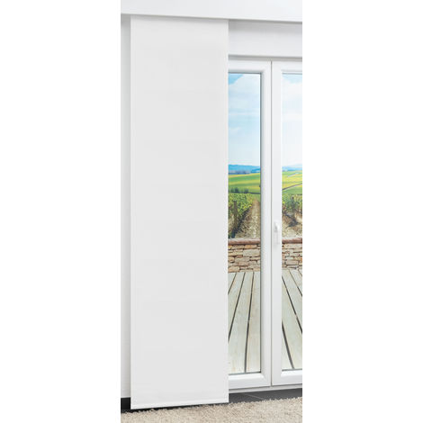 Schiebegardine Shading Weiß (B x H) 60cm x 250cm #1W 21450-62457