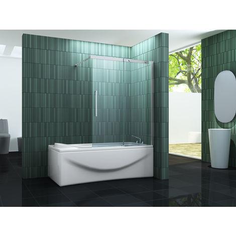 Schiebetür-Duschtrennwand BATCH (Badewanne)