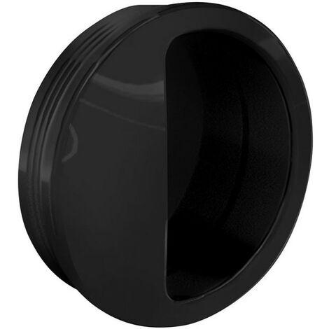 Schiebetürbeschlag Muschelgriff rund Ø 50 mm - Kunststoff - verschiedene Farben