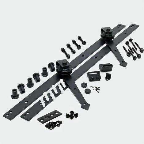 Schiebetürsystem Schiebetürbeschlag 244 cm max. 150 kg Montage-Set
