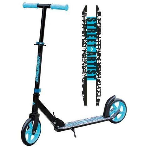 Schildkröt Trottinette City Scooter Street Artist. roues 200mm. trottinette de loisir en aluminium. pliable. idéale pour les enfants Schildkrot