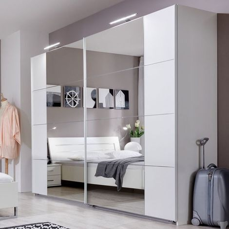 Schlafzimmer - Schiebetürenschrank / Kleiderschrank Andara 01, Farbe ...