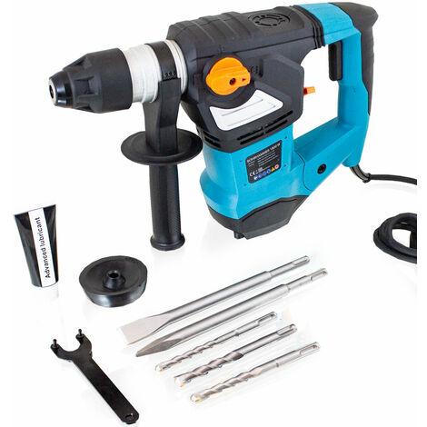 Gut gemocht Schlagbohrmaschine Bohrhammer Schlagbohrer Meißelhammer 1800W SDS+ MP46