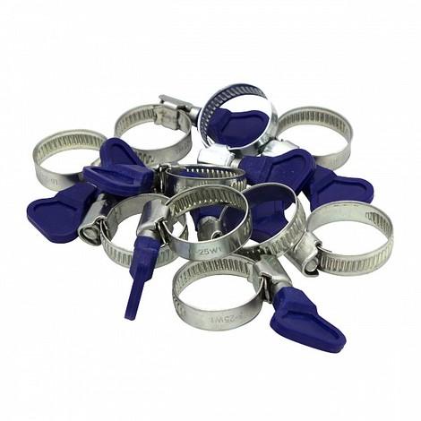 Mini Schlauchschellen 10-16mm W1  Schlauchschelle DIN 3017 10 Stk