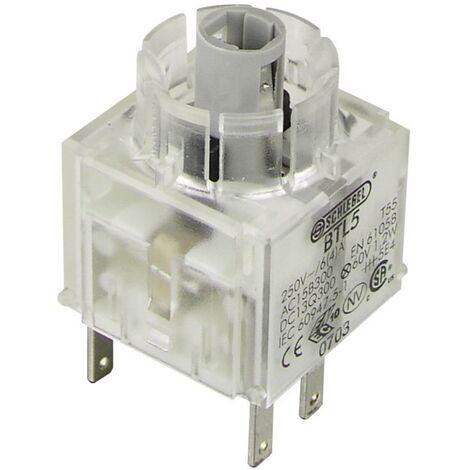 Schlegel BTL5 Élément de contact avec culot dampoule 1 NF (R), 1 NO (T) à rappel 250 V 1 pc(s)