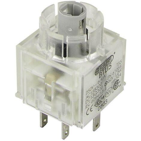 Schlegel BTLI5 Élément de contact avec culot d'ampoule 2 NO (T) à rappel 250 V 1 pc(s) D71017