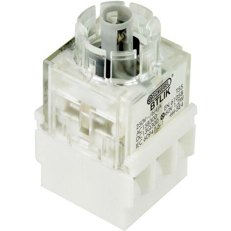 Schlegel BTLI5K Élément de contact avec culot dampoule 2 NO (T) à rappel 250 V 1 pc(s)