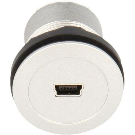 Schlegel MIni-USB-Einbaubuchsen 2.0 Buchse, Einbau Inhalt: 1St. D955151