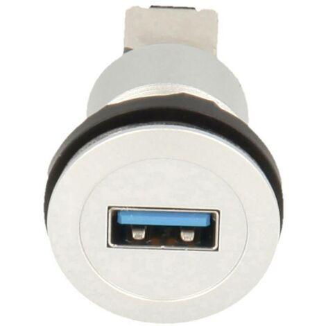 Schlegel USB-Einbaubuchsen 2.0 Buchse, Einbau Inhalt: 1St. D955731