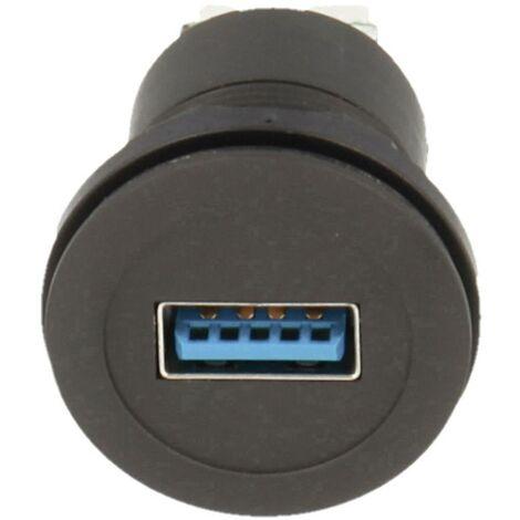 Schlegel USB-Einbaubuchsen 2.0 Buchse, Einbau Inhalt: 1St. D955781