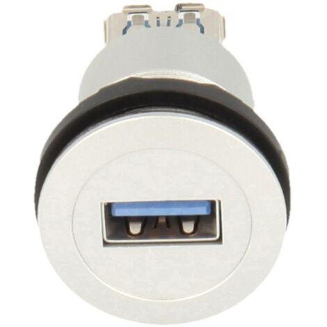 Schlegel USB-Einbaubuchsen 3.0 Buchse, Einbau Inhalt: 1St. D955281