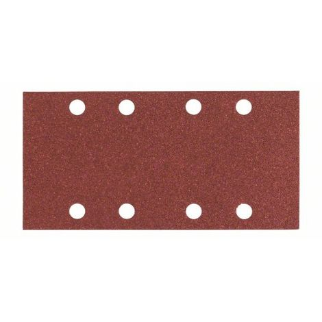 Schleifblatt C430, 93 x 186 mm, 80, 8 Löcher, 10er-Pack