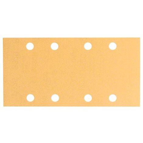 Schleifblatt C470, 93 x 186 mm, 400, 8 Löcher, Klett, 10er-Pack