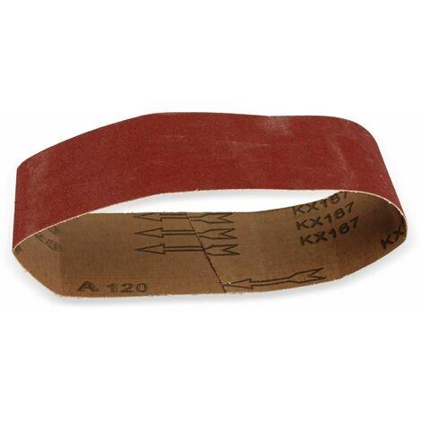 Schleifpapier für Bandschleifer, 5 Stück, K120
