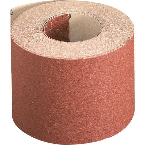 Schleifpapier-Rolle 115mm K80 5m