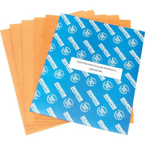 Schleifpapier Schleifbögen 280 x 230 mm zur Holzbearbeitung 1 fein/mittel
