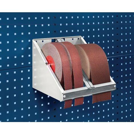 Schleifpapierrollenhalter B310xT300xH250mm Rollenb.max.120mm D.max.260mm BOTT