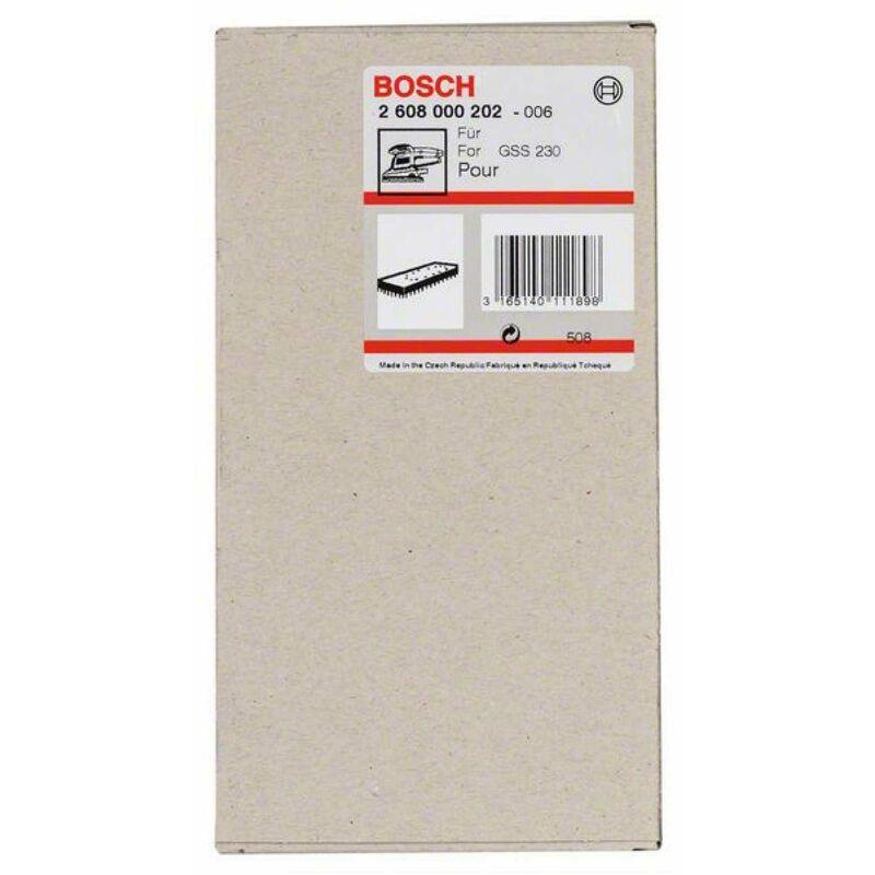 BOSCH Schleifplatte 185 x 93 mm GSS 230 A GSS 230 AE,