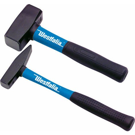 Schlosserhammer mit Fiberglasstiel