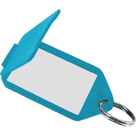 Schlüsselanhänger 8160 FS/50 gelb aufklappbar 56 x 30 mm gelb