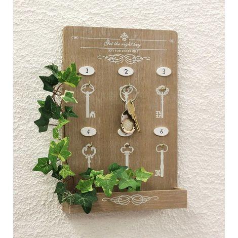 Schlüsselboard mit Ablage 18238 Schlüsselkasten Memoboard 30 cm Schlüsselleiste