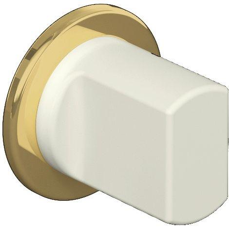 Schlüsselrosetten-Paar 306PBVMNR 99 Ku.99m-CA Schildst.1,5mm WC/FBM rd.HEWI