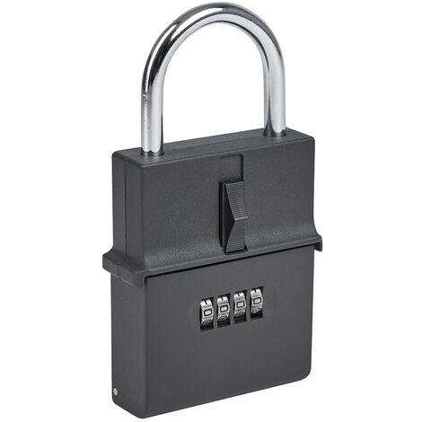 Schlüsseltresor tragbar für 3 Schlüsselsets mit Kombinationsschloss