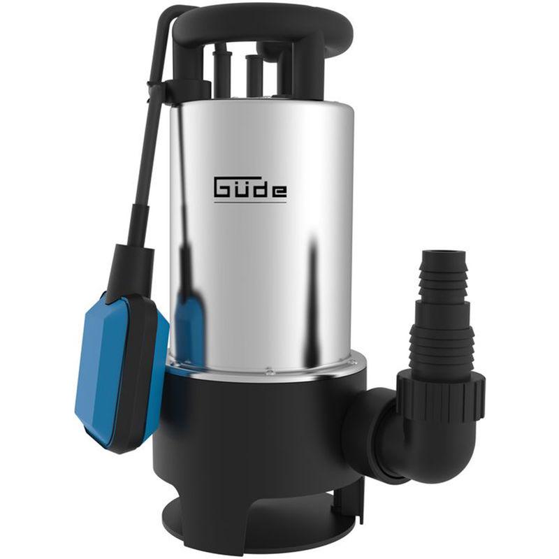 Edelstahl Schmutzwasserpumpe Tauchpumpe  Pumpe 750 W 12500 L Starke