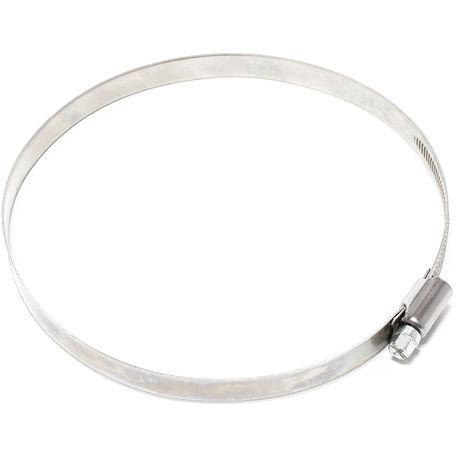 mit Schneckengewinde ER-BI/® DIN 3017 Industriequalit/ät Bandbreite 9 mm Schlauchschelle EDELSTAHL W4 V2A Spannbereich /Ø 130-150 mm