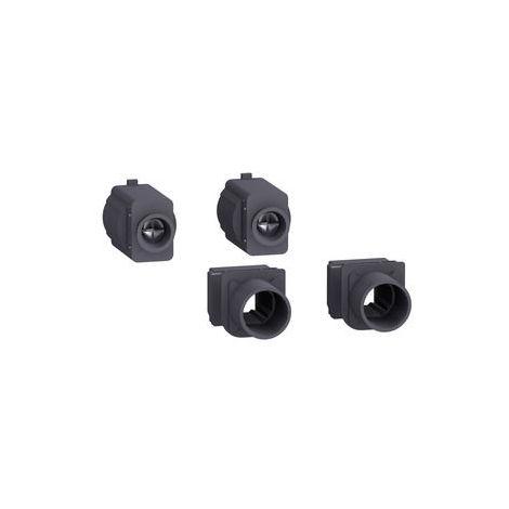 Schneider 2 Berührungsschutzklappen IP40 für Sockel für NSX400-630