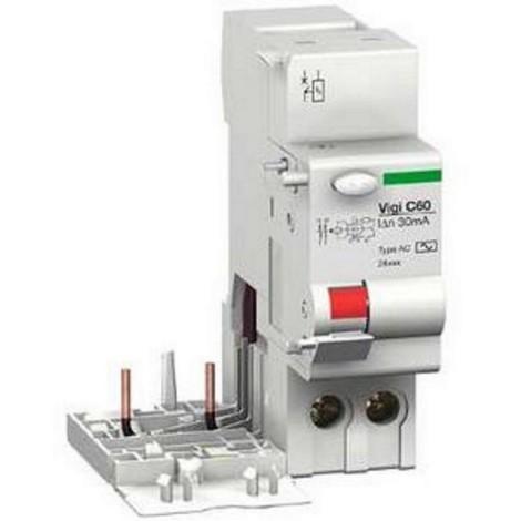 Schneider 26509 - bloc différentiel Vigi C60 - 25 A - 2P - 220..415 V - 30 mA