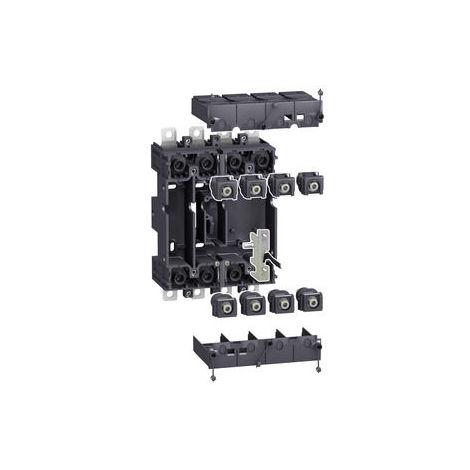 Schneider 4P Einsteckplatte, NSX400/630 Leistungsschalterzubehör
