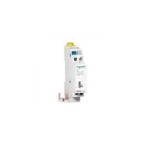 Schneider A9C15507 Télérupteur raccordement 16A 2P 230V