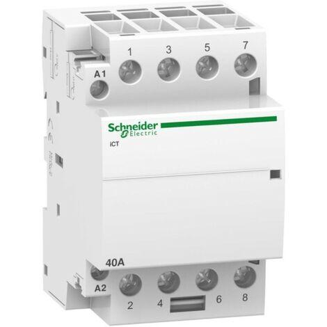 "SCHNEIDER A9C20844 Inst.-Schütz 40A 4S 220-240VAC-""1047763"""
