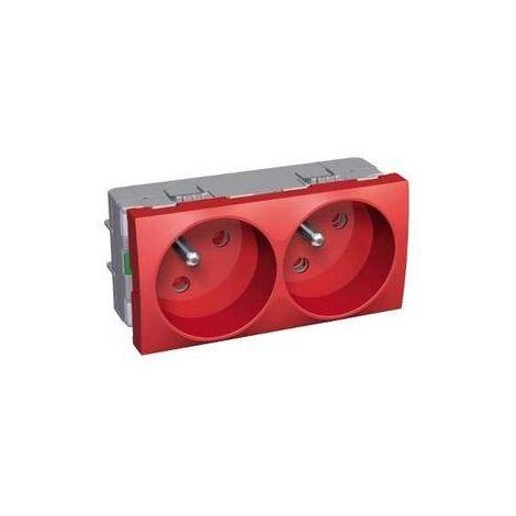 Schneider ALB45224 - Altira - bloc Sockets doubles 45