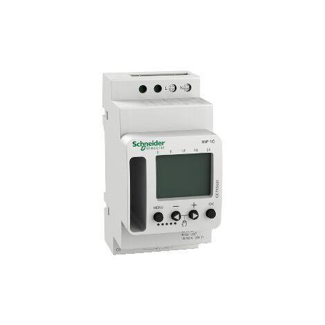 Schneider CCT15441 Interrupteur horaire programmable 7 jours Acti9