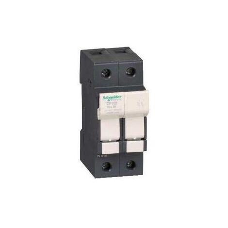 Schneider DF102 Porte-fusible 2P 32A pour fusible 10x38mm