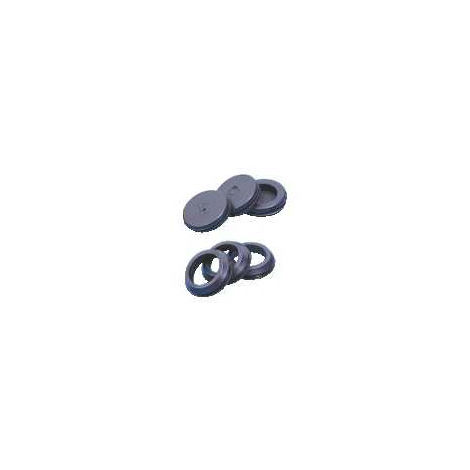 Schneider Electric 3280215 PVC Cable Grommet Standard 20mm Closed (Pack of 100)