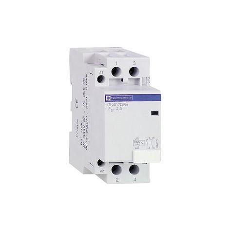 SCHNEIDER ELECTRIC Contacteur jour/nuit GY, 4 NO, 25A, 24 V AC