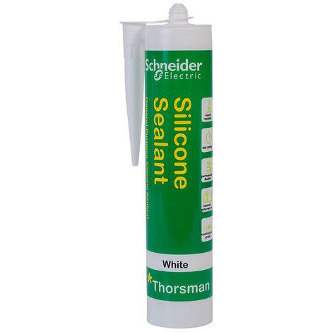 Schneider Electric IMT23024 Thorsman Silicone Sealant White 300ml