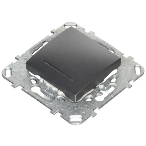 SCHNEIDER ELECTRIC Interrupteur va-et-vient a voyant Unicatop graphite