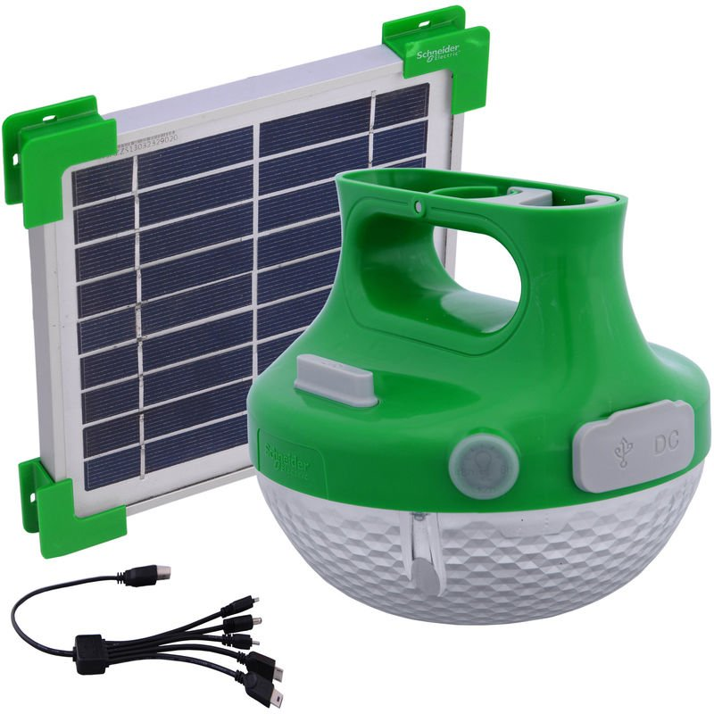 Lampe Solaire Schneider Electric Portable Led USzMpV