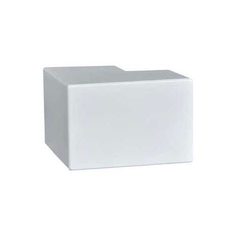 Schneider Electric MEA50W Midi Trunking External Angle 50x50mm (Pack of 5)