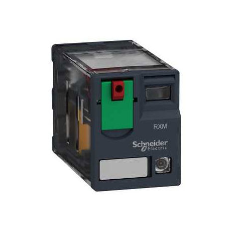 Schneider Electric RXM4AB2P7 4PDT Miniature Relay with LED 230VAC 6A
