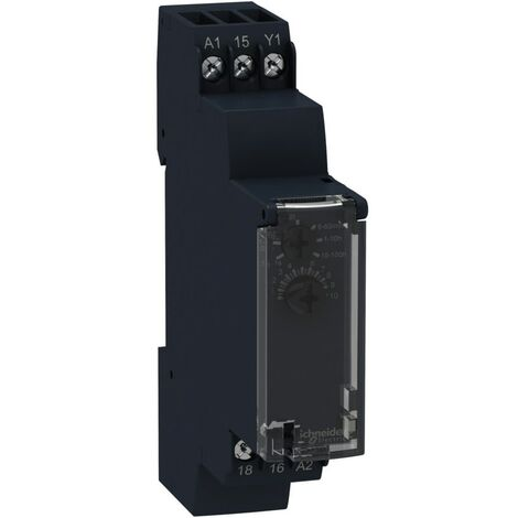 Schneider Electric Time-delay Relay, Dual-function